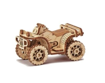 Wood Trick – Mechaniczne puzzle 3D-  Quad – ATV
