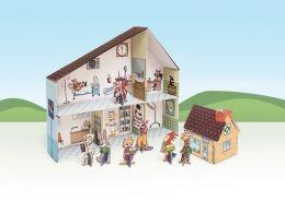 Zabawka tekturowa - Szpital dla zwierząt