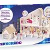 Zabawka z kartonu - Salon piękności