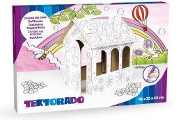 Domek dla lalek do kolorowania