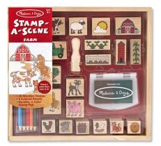 Stempelki Melissa and Doug - zestaw Farma
