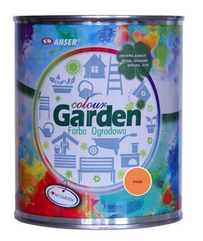 Farba ogrodowa GardenColour pomarańczowa 0,75l