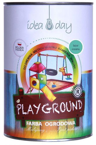 Farba ogrodowa lazur Playground 1l