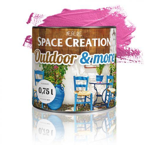 Farba zewnętrzna Outdoor&More 0,75l Różowa