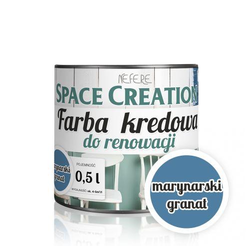 Farba do renowacji Space Creation - marynarski granat 0,5l
