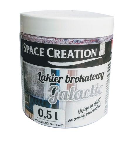 Lakier Galactic czerwony - farba brokatowa