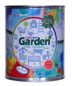 Farba zewnętrzna  czerwona GardenColour 0,75l