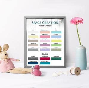 Space Creation farba kredowa - słodka brzoskwinia 0,5l