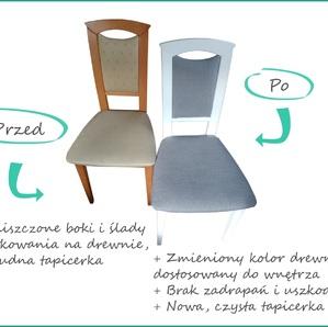 Farba kredowa do renowacji mebli - biała 1 litr