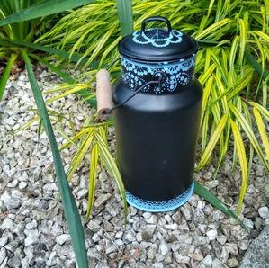 Farba zewnętrzna Outdoor & More Scandic black 0,75l