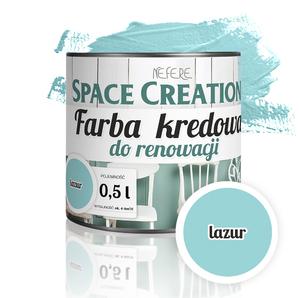 Farba kredowa Chalk Paint - lazur 0,5l