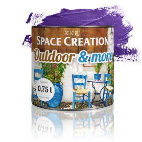 Farba zewnętrzna Outdoor&More 0,75l fioletowa