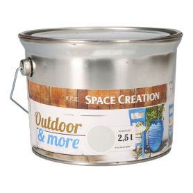 Farba zewnętrzna Outdoor&More 2,5l szara
