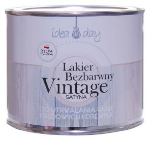 Lakier satynowy IdeaDay do renowacji Vintage