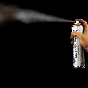 Dezynfekujący spray 300ml antywirusowy