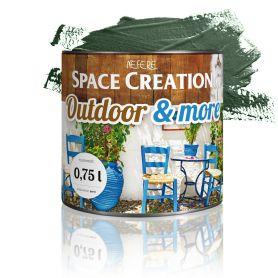 Farba zewnętrzna Outdoor&More 0,75l Zielona