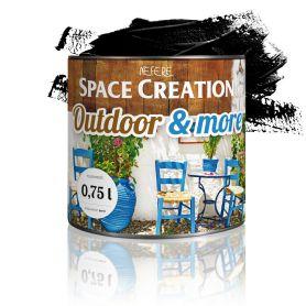 Farba zewnętrzna Outdoor&More 0,75l Czarna